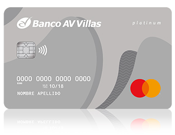 04c4169e5a9a5 Banco AV Villas - Tarjeta de crédito platinum