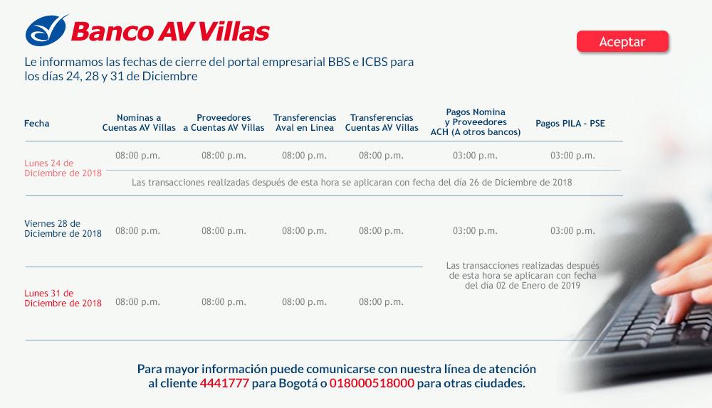Banco AV Villas - cuenta de ahorros rentavillas